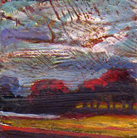A Painting a Day #32 -  Ray's Farm Revisited