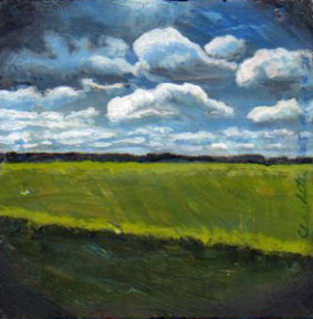 A Painting a Day #78 -  Country Field