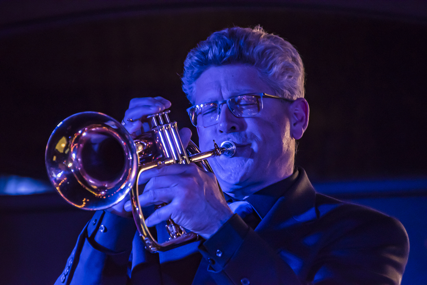 Larry Pennel on Trumpet/Flugel Horn