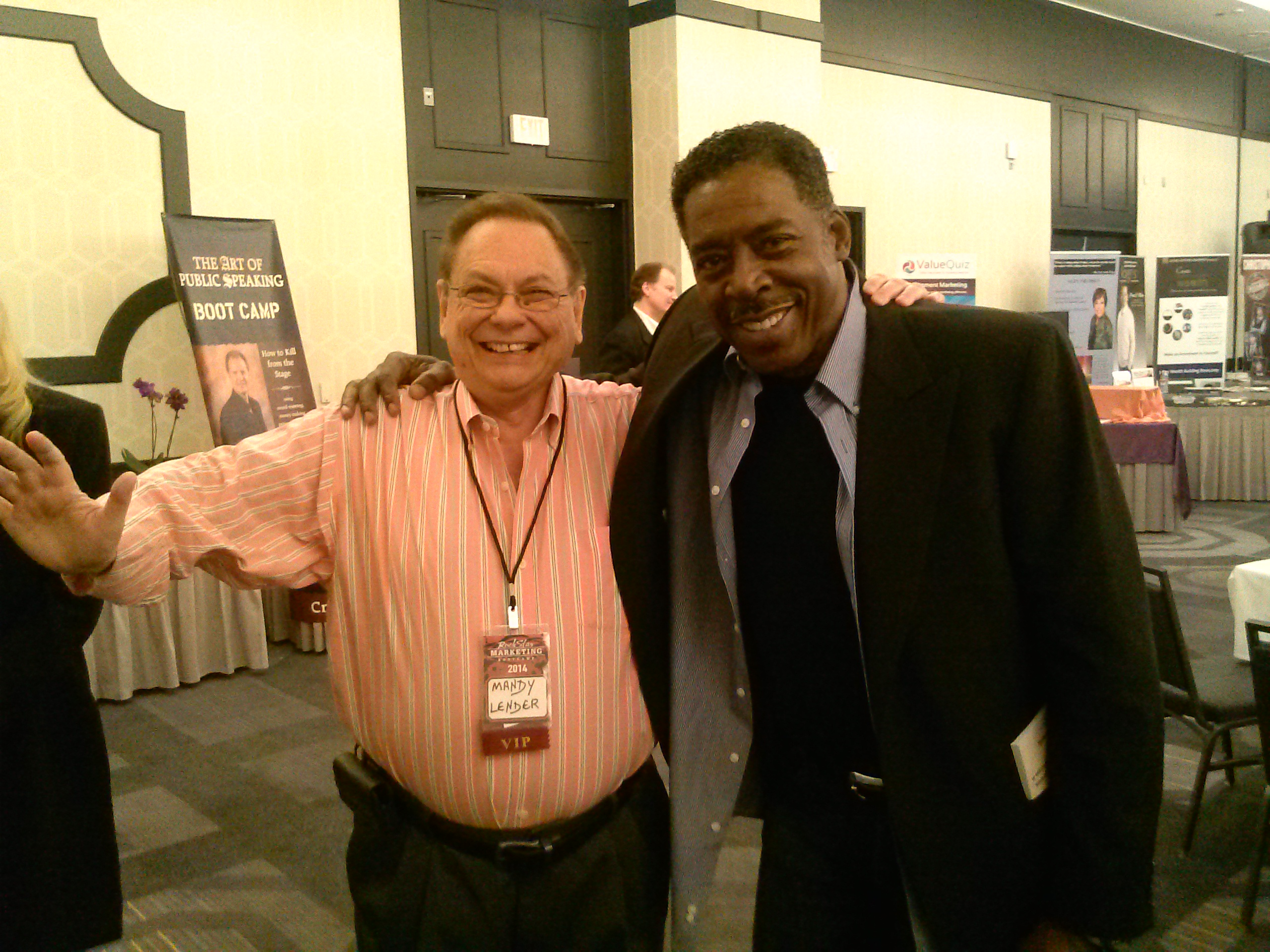 With Ernie Hudson - The Ghost-Buster