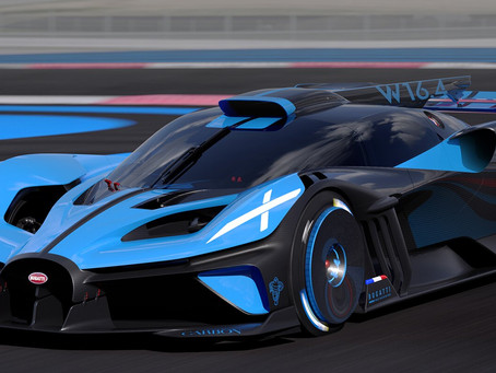 Are Bugatti ever going to build a different engine?