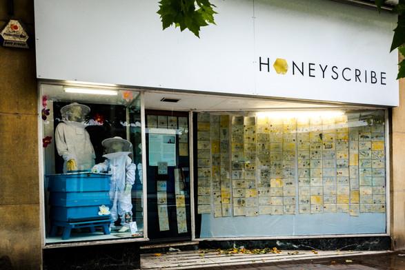 Honeyscribe Shop, Paris Street Exeter (2018)