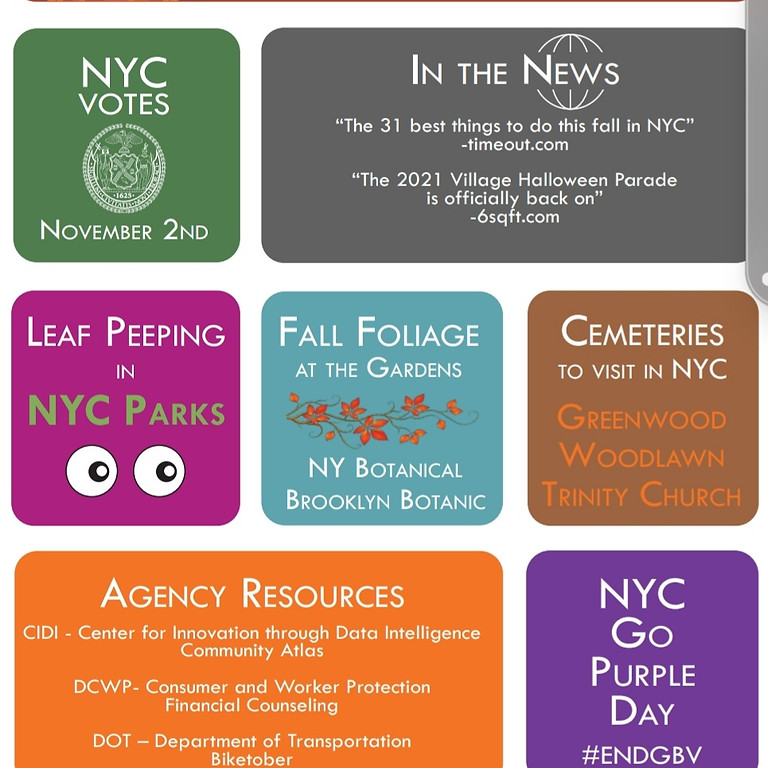Fall Events In New York