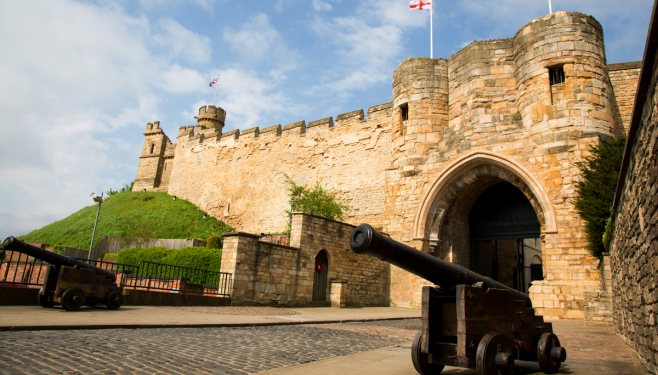 Lincoln Castle Enterance