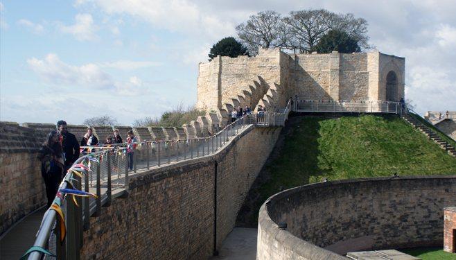 Lincoln Castle Walls