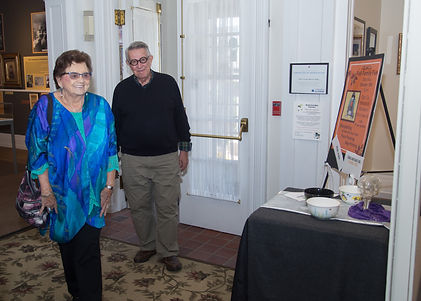 Margot & Dave coming into the Museum.jpg