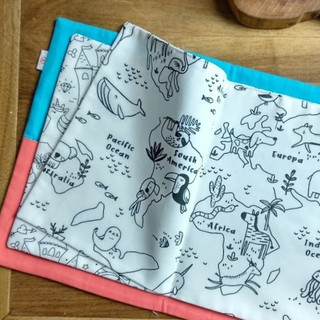 cahier coloriage surf