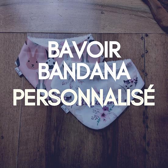Bavoir Bandana Personnalisé