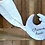 Thumbnail: Doudou lune avec prénom - Autres tissus