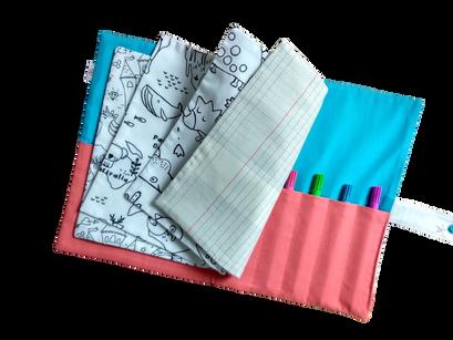 Coloriez à l'infini avec le cahier de coloriage lavable !