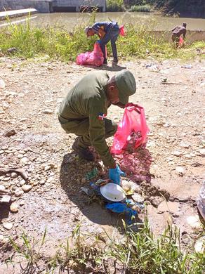 ¡SENPA, participa en jornada de reforestación en Elías Piña!