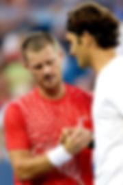 Roger+Federer+Alex+Bogomolov+Western+Sou