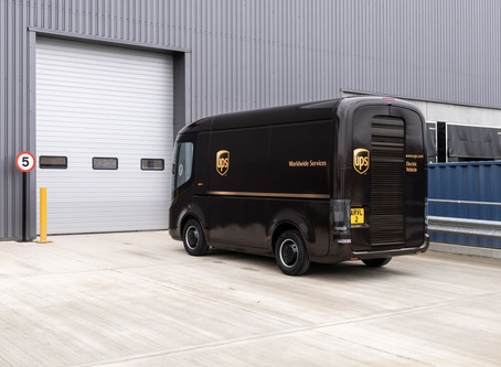 UPS Goes Electric With New Vans