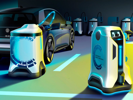 These Charging Robots Will Find and Recharge Your EV
