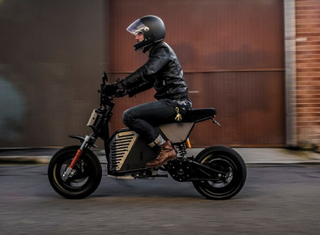 You Can Now Buy an Electric Motorcycle