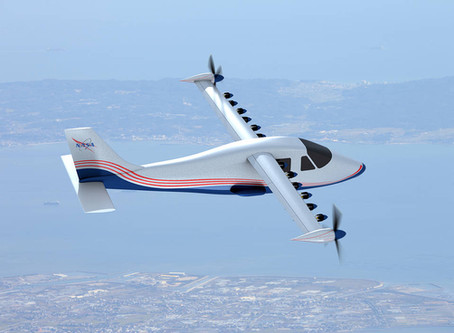 NASA Is Pioneering the Electric Aircraft