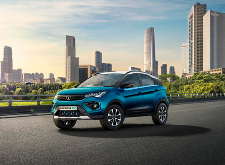 India Have Their First EV, It's the Tata Nexon