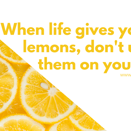 When life gives you lemons, don't use them on your face!