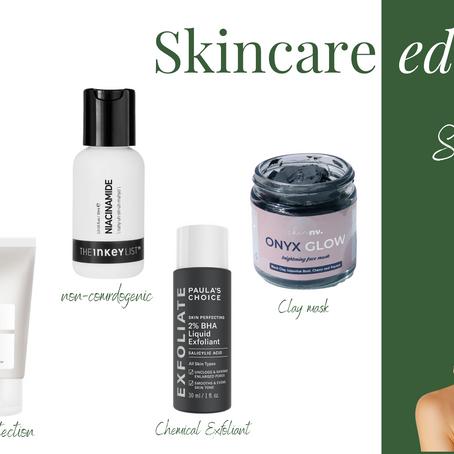 Skincare edit.: Oily Skin