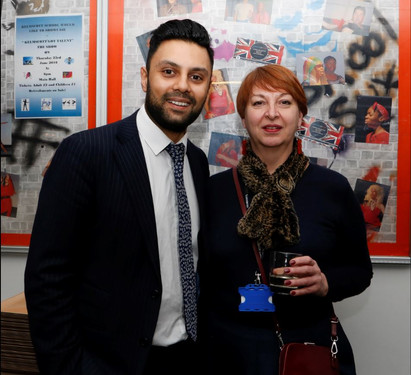 Mr Mohsin Zaidi and Ms Thorp