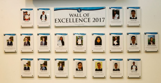 Wall of Excellence 2017