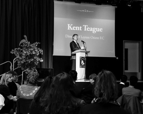Key speaker Mr Kent Teague, Director of Letyon Orient FC