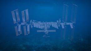 Spacecraft Cemetery in Ocean