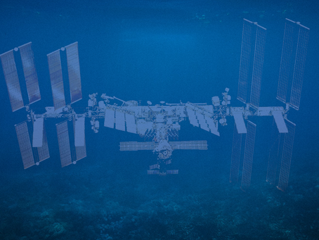 Spacecraft Cemetery in Ocean