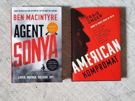 "Book Review: ""Agent Sonya"" & ""American Kompromat"" - A Revealing Duo"