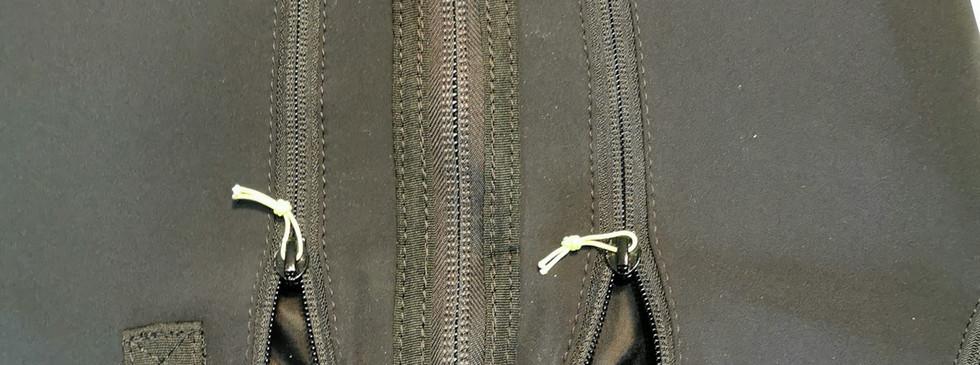 Fronttaschen mit Schleppschlaufen