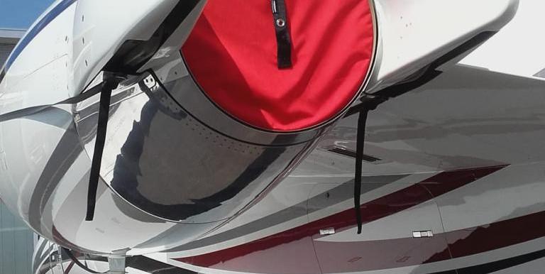 Learjet Triebwerk Abdeckung