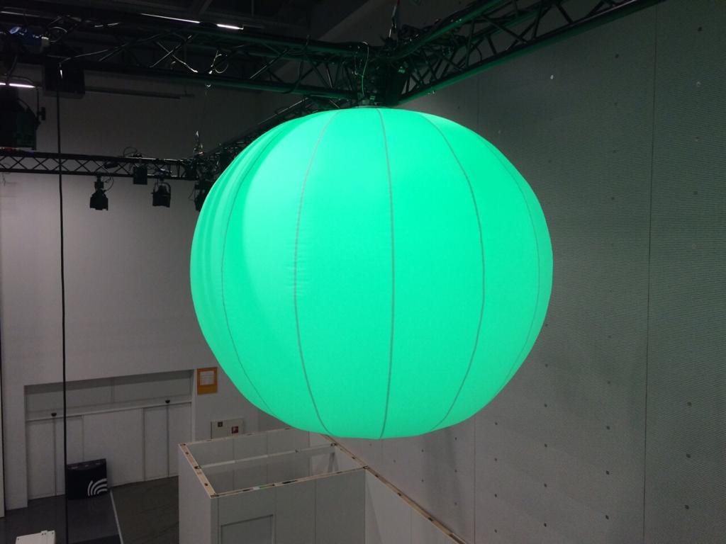 Leucht-Ballon 2m Durchmesser