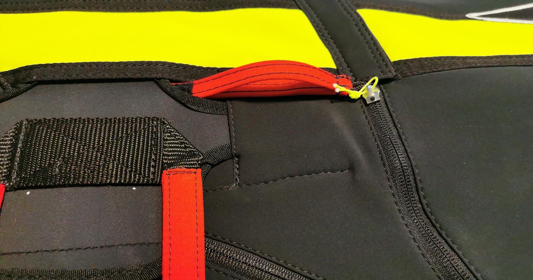 Bremsschirm Tasche mit Griff