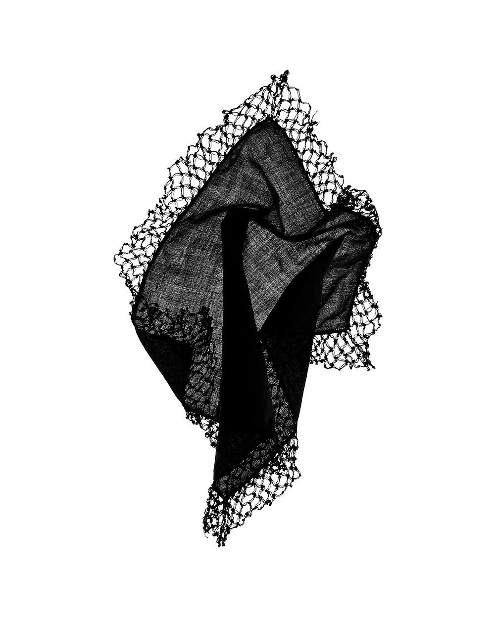Raymond E. Mingst, Untitled (Mourning Handkerchiefs) 2020