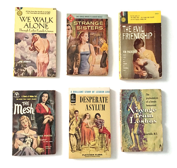 Pulps from the Lesbian Herstory Archives