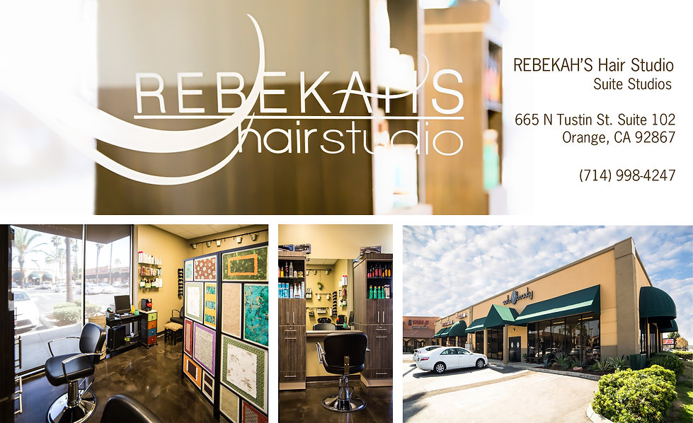 Rebekah's Hair Studio is a full service Hair Salon in Anaheim Hills. Located near Yorba Linda, Villa Park and Orange. We are right off the 91 fwy and Lakeview Ave, 92807.