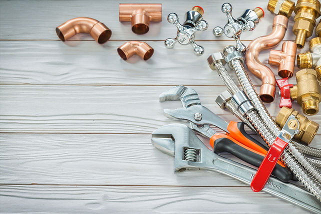 copper and brass plumbing fittings for c