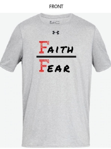 FLF X Under Armour Performance T-Shirt - Faith over Fear