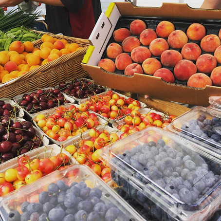 Enjoy seasonal goodness at your local farmers market