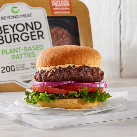 This plant-based burger just might fool you.