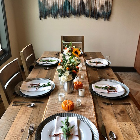 Hosting a Low-Waste Holiday Dinner