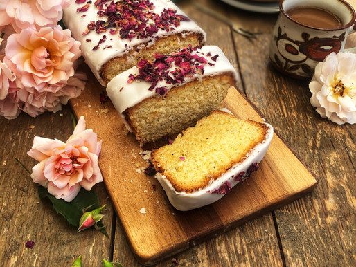 Rose Water & Wild Spice Cake