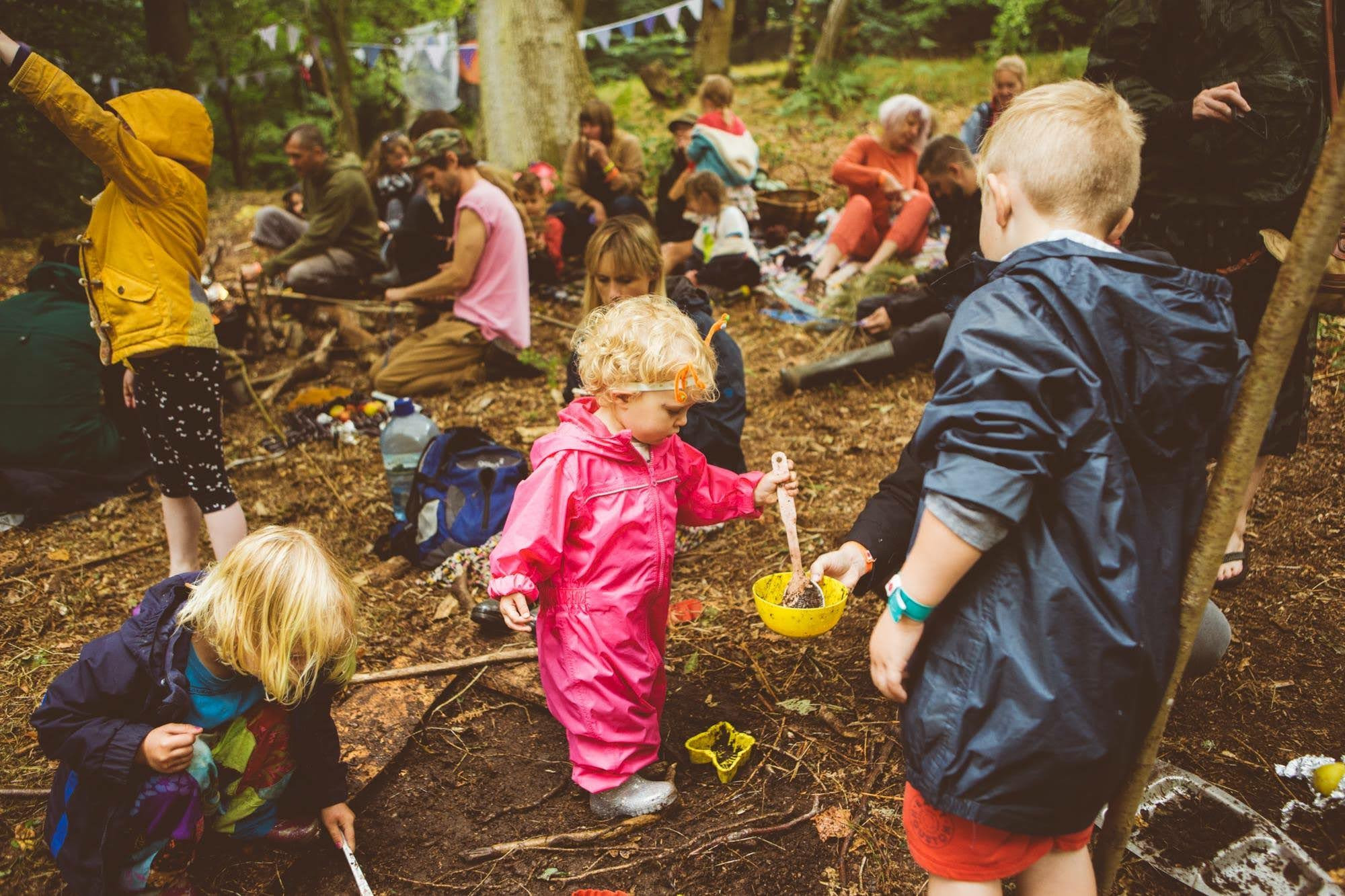 Family Forest School Session @ WHH