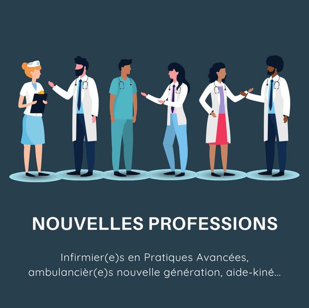 Nouvelles professions
