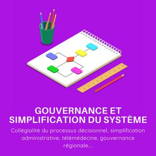 Gouvernance et simplification du système