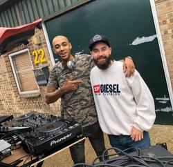 Our DJ @THATDJAYG and DJ Tay!