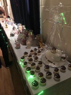 18th Birthday Food Spread