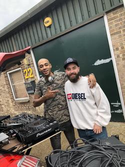 Car Meet DJ'ing