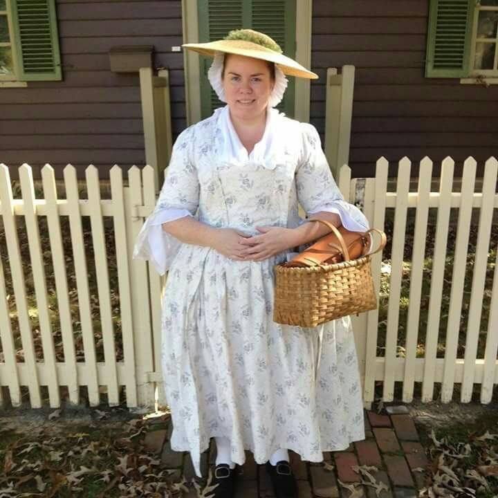 Mrs. Shields @ Colonial Williamsburg