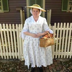 Mrs. Shields @ Colonial Williamsburg
